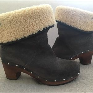 UGG BOOTIES WITH HEEL